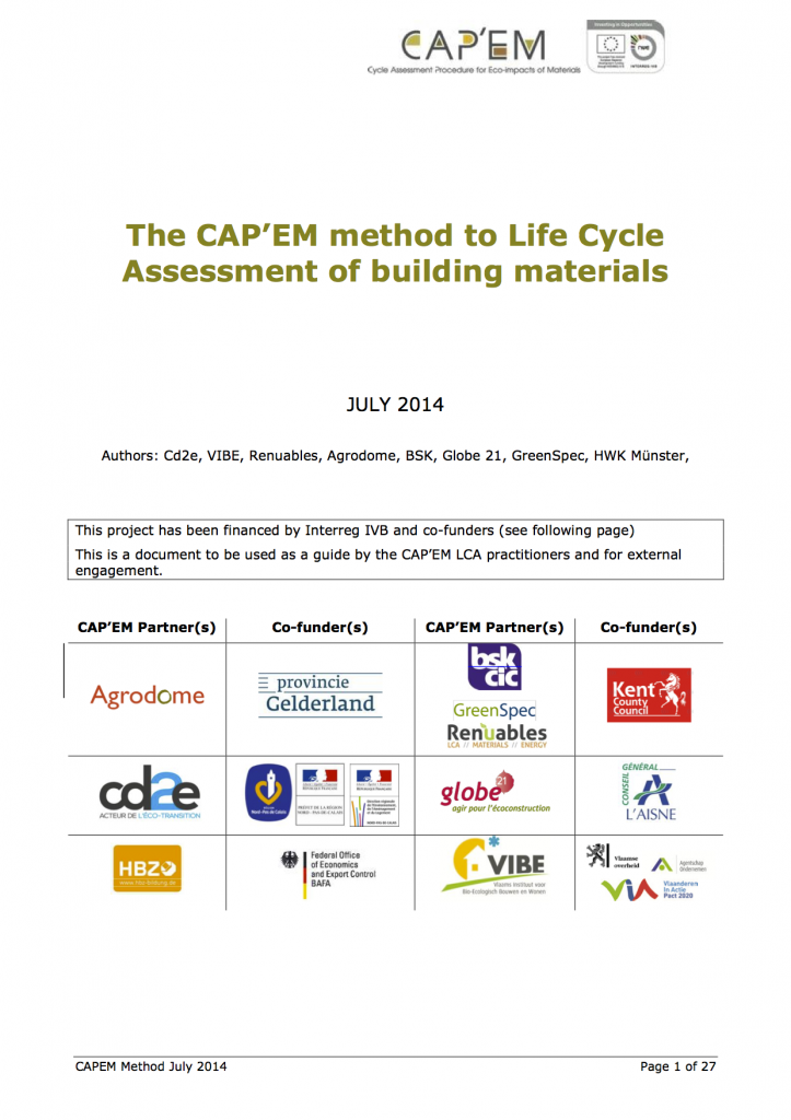 CAPEM Method 1-20140709