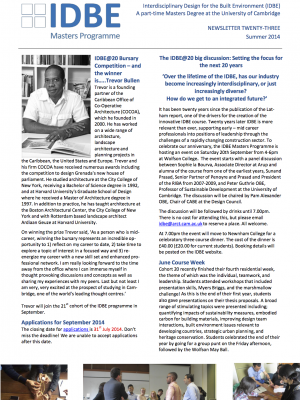 IDBE-newsletter-23-summer-2014