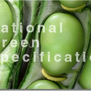 NGS National Green Specification Broad Bean Banner About Navigation
