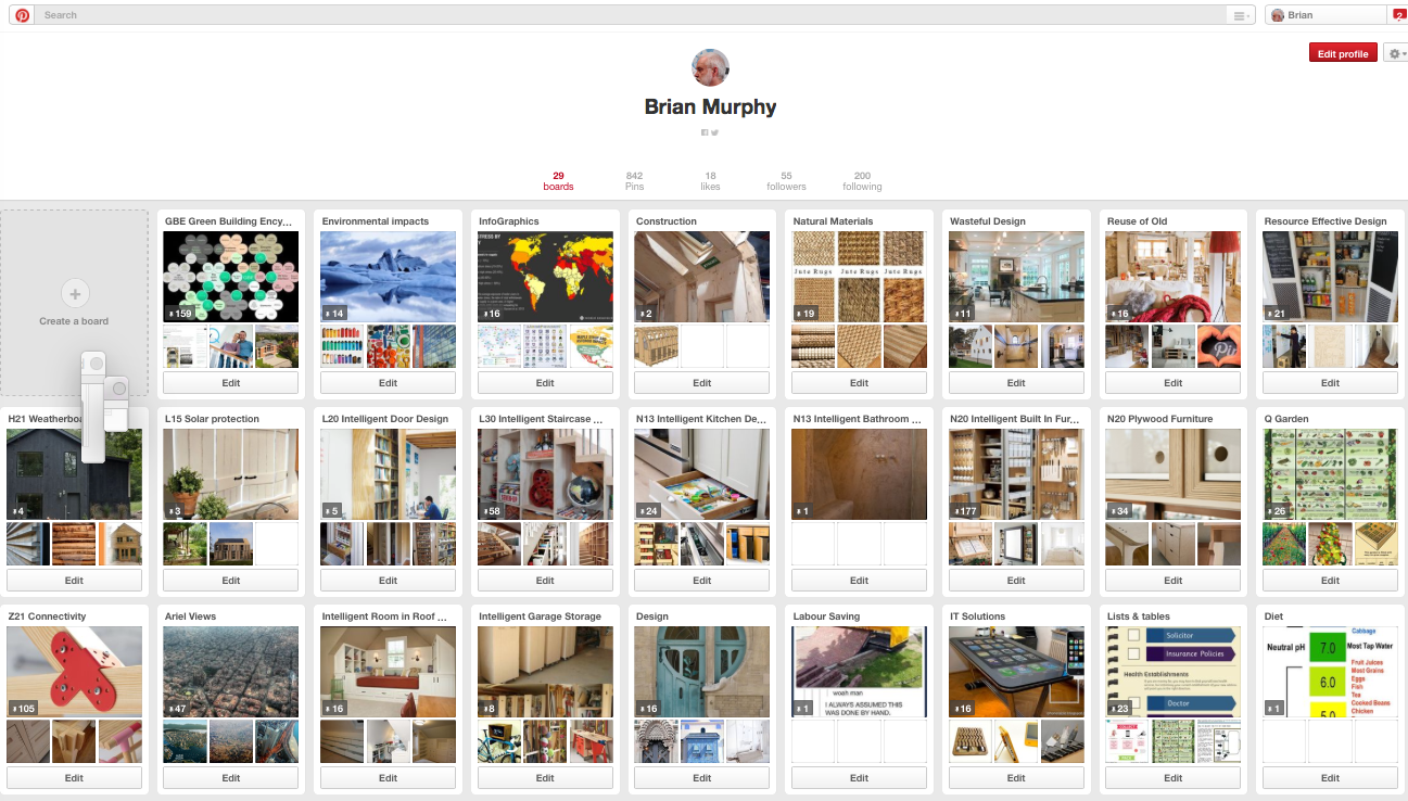 GBE Pinterest National Green Specification G#1337 N#1324