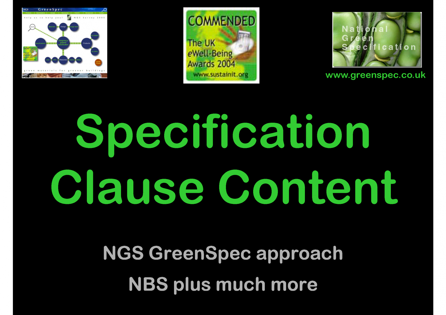 SpecificationClauseContent