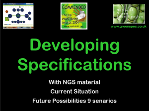 SpecificationDevelopment9Scenarios