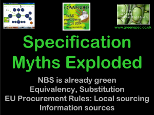 SpecificationMythsExploded