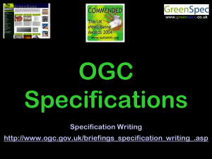 SpecificationOGC