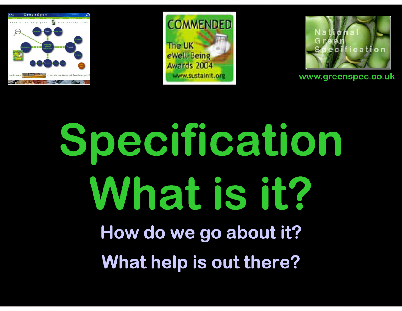 GBE CPD About Specification G#560 N#580