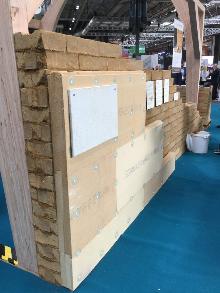 Stocks frame wall insulation render