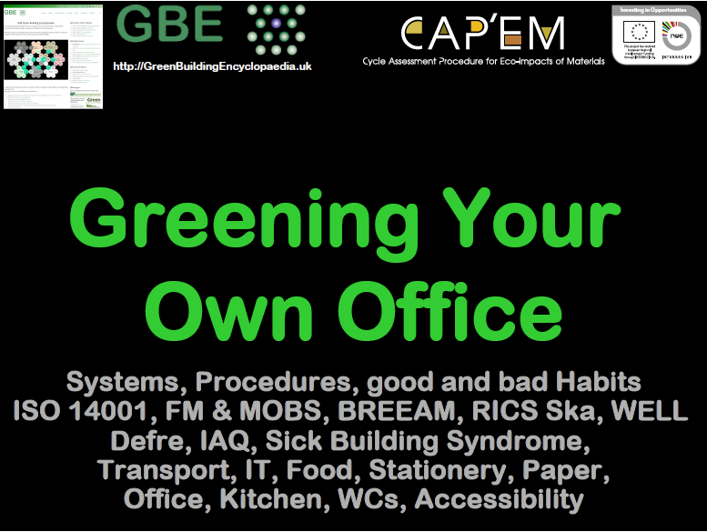 GBE CPD D32 Greening Your Own Office CPD B02 BRM 141117