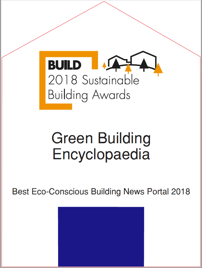 BUILD-2018 Sustainable Building Awards Trophy