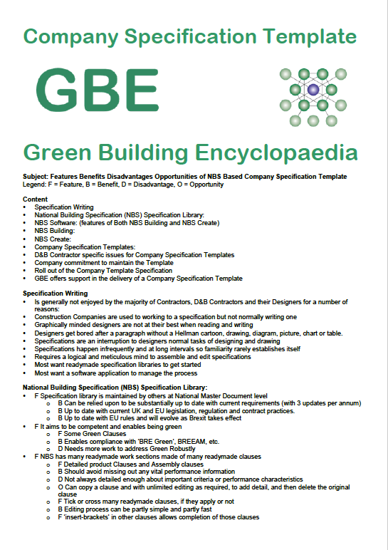 GBE Contractor Specification Template A00 BRM 160818 PNG Cover