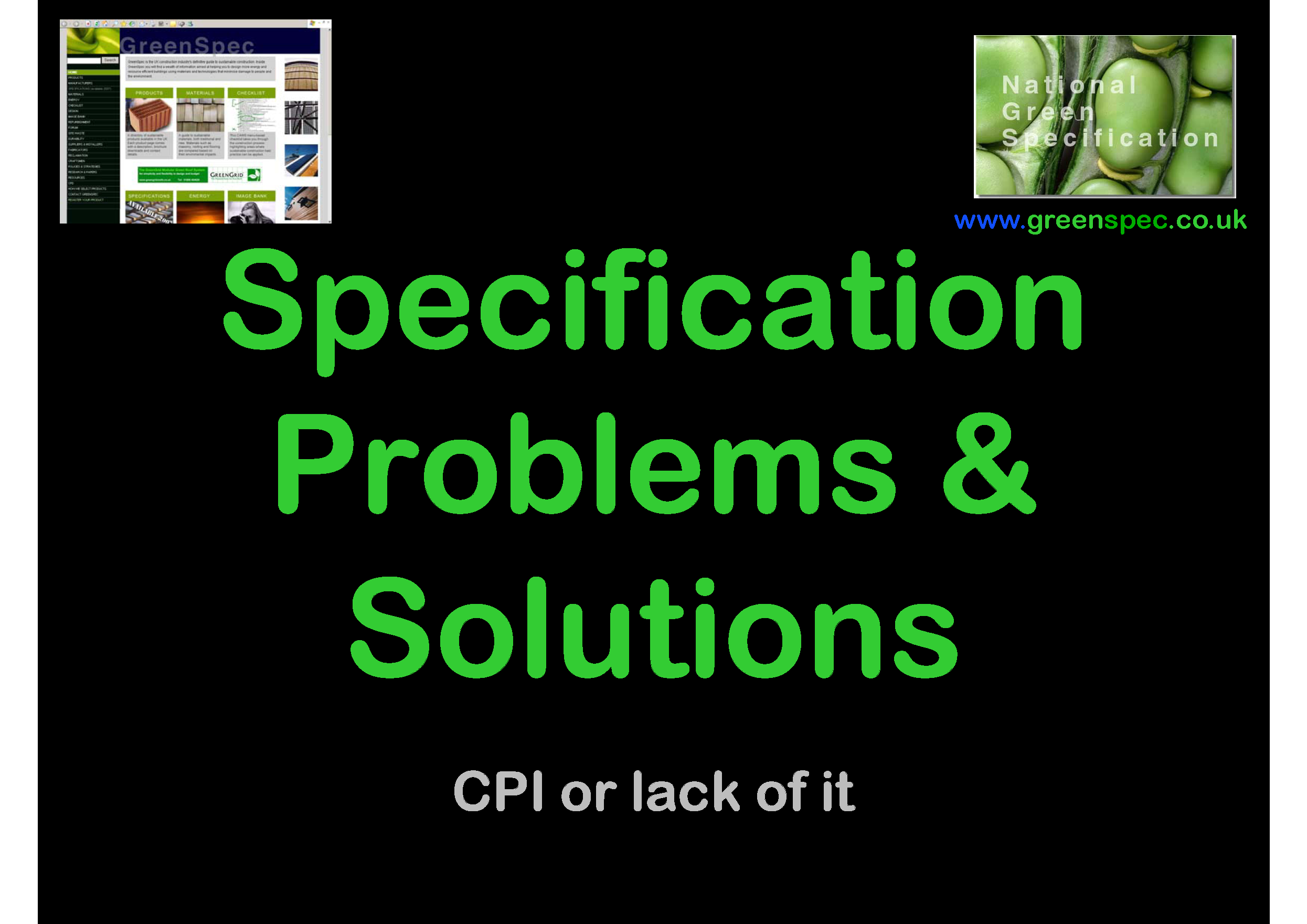 Specification Problems Solutions CPD Cover png