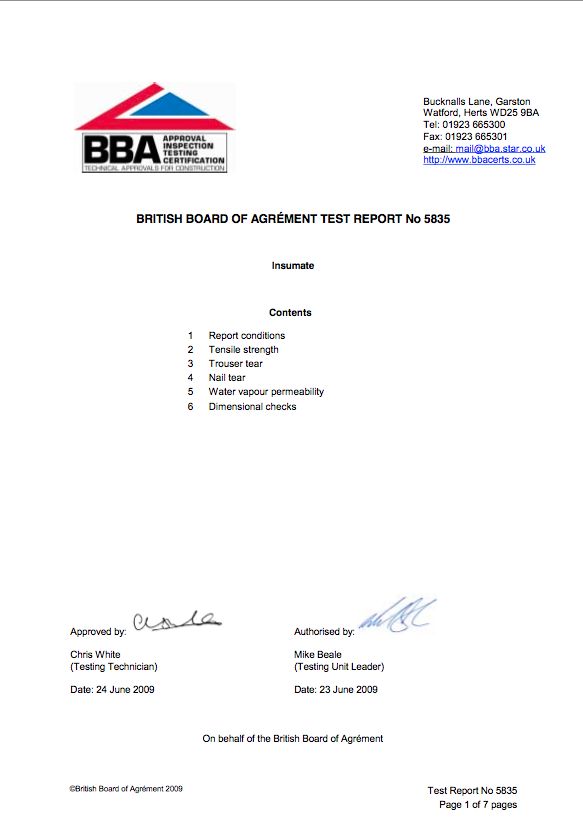 Insumate Ltd BBA Prototype Report 1 png