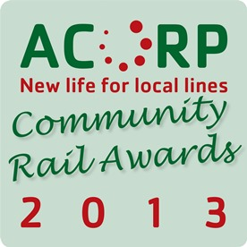 Acorp CRA Community Railway Awards 2013 Logo png