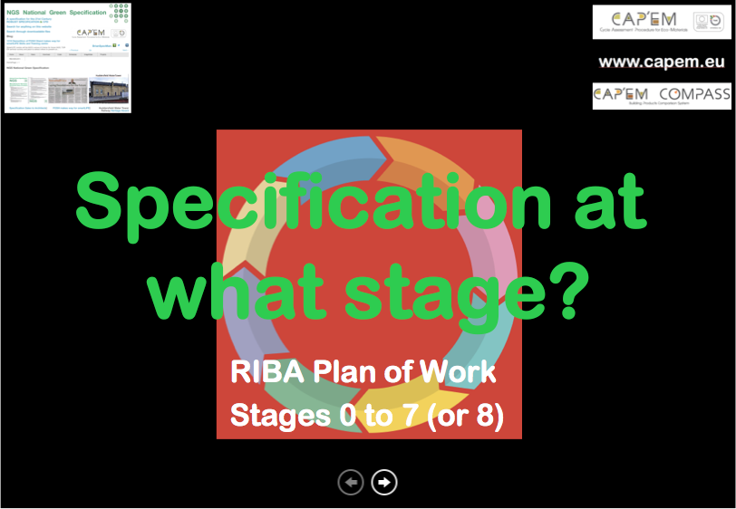 Specification Development Plan Of Work png CPD cover