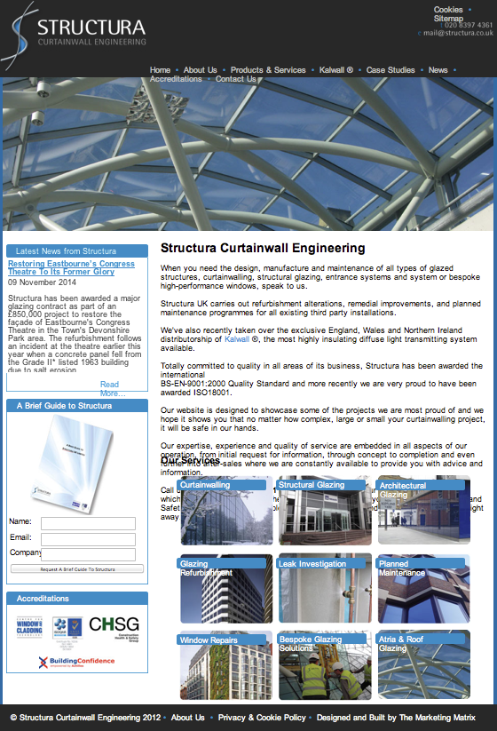 Structura UK Ltd Homepage png