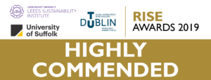 RISE 2019 Highly Commended banner