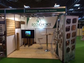 EcoChoice TimberExpo 2015 stand