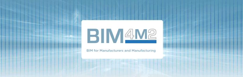 BIM4M2 logo BIMForManufacturers+Manufacturing