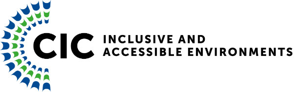 CIC Inclusive Accessible Environments Logo