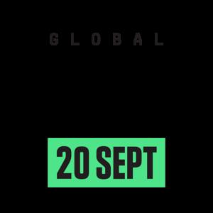 Global Climate Strikes logo EN colour
