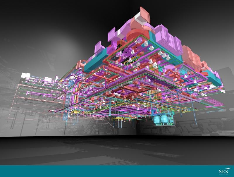 SES BIM 3D Services