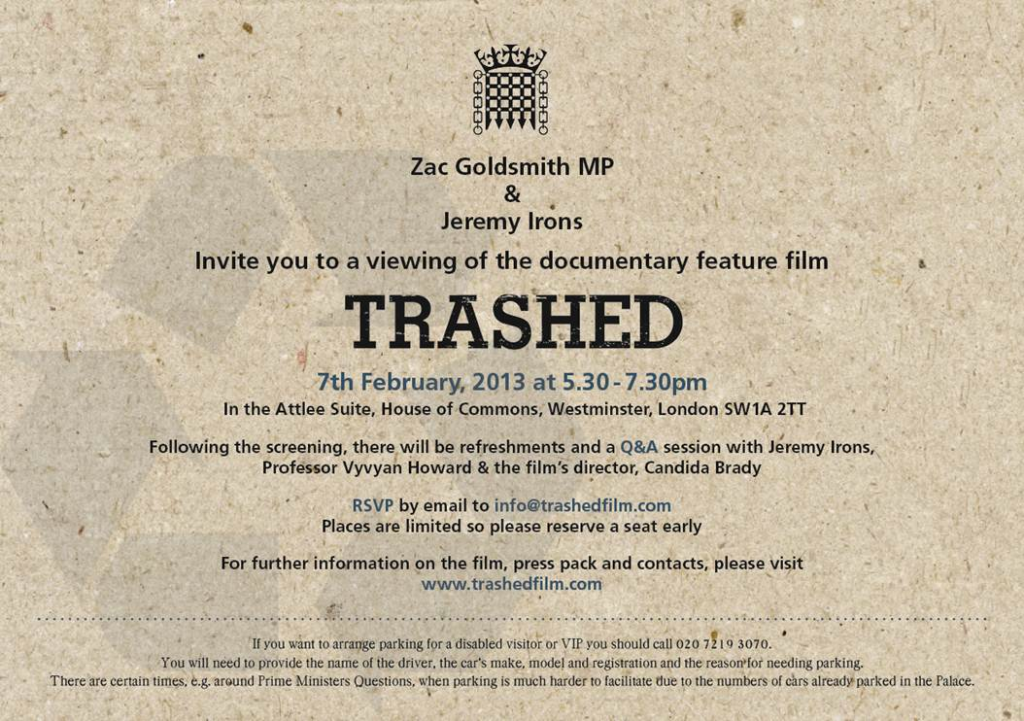 Trashed Invite