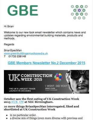GBE Member Newsletter 2 Dec 2015