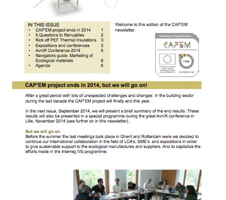 2014-07 CAPEM newsletter