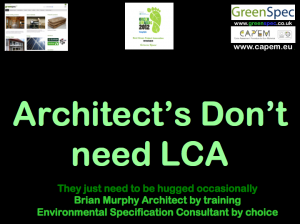 ArchitectsDontNeedLCA