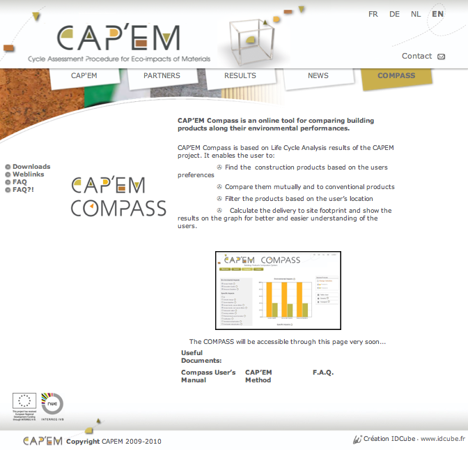 CAPEM Compass Home Page