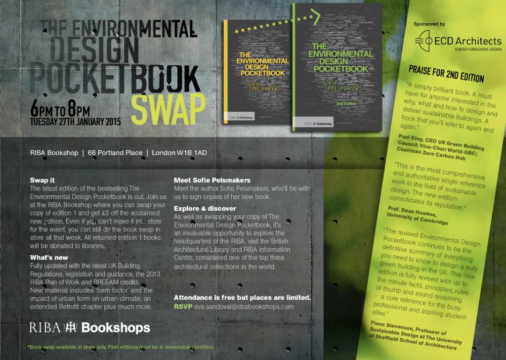 EDPB Bookswap flyer