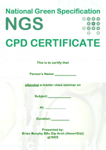 GBE CPDCertificate