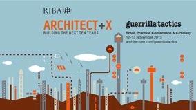 RIBA Guerrilla Tactics 2013 Poster