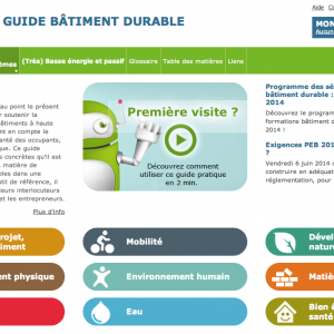 Guide Batiment Durable Home Page