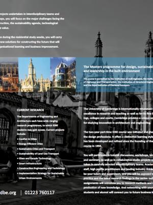 IDBE Brochure 2011-13