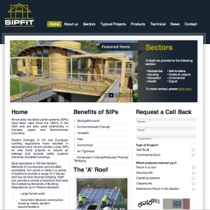 SIPFIT Website ScreenShot