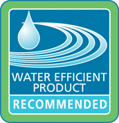 Water efficient product recommended logo