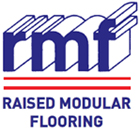 rmf raised modular flooring logo