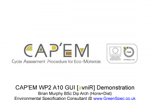 CAPEM WP3 AvniR Working