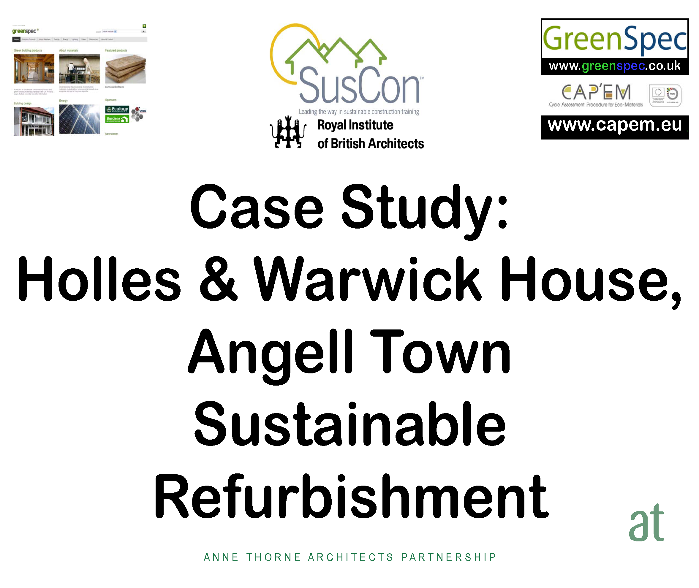 GBE Building Case Studies Navigation - Green Building