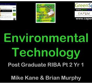 EnvironmentalTechnologyPart2Year1