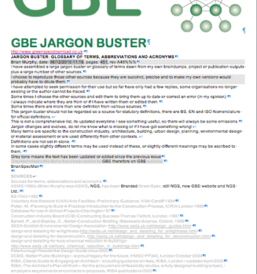 GBE Jargon Buster Collection A49 brm 061215