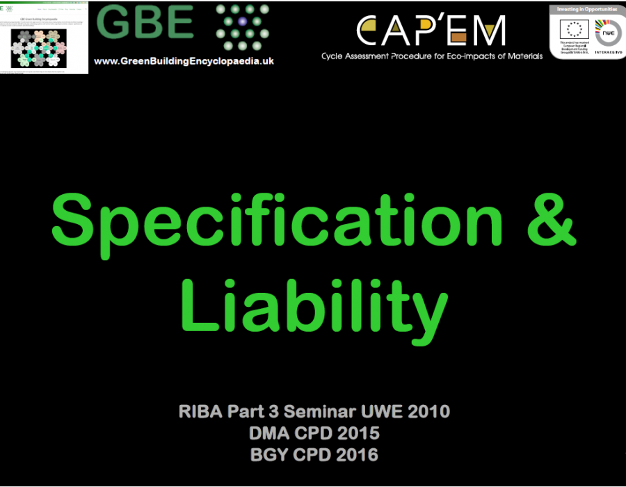 GBE CPD Specification + Liability S1 PNG