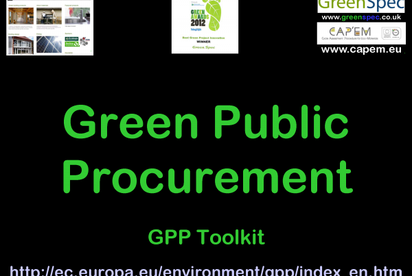 GPP Green Public Procurement CPD Cover