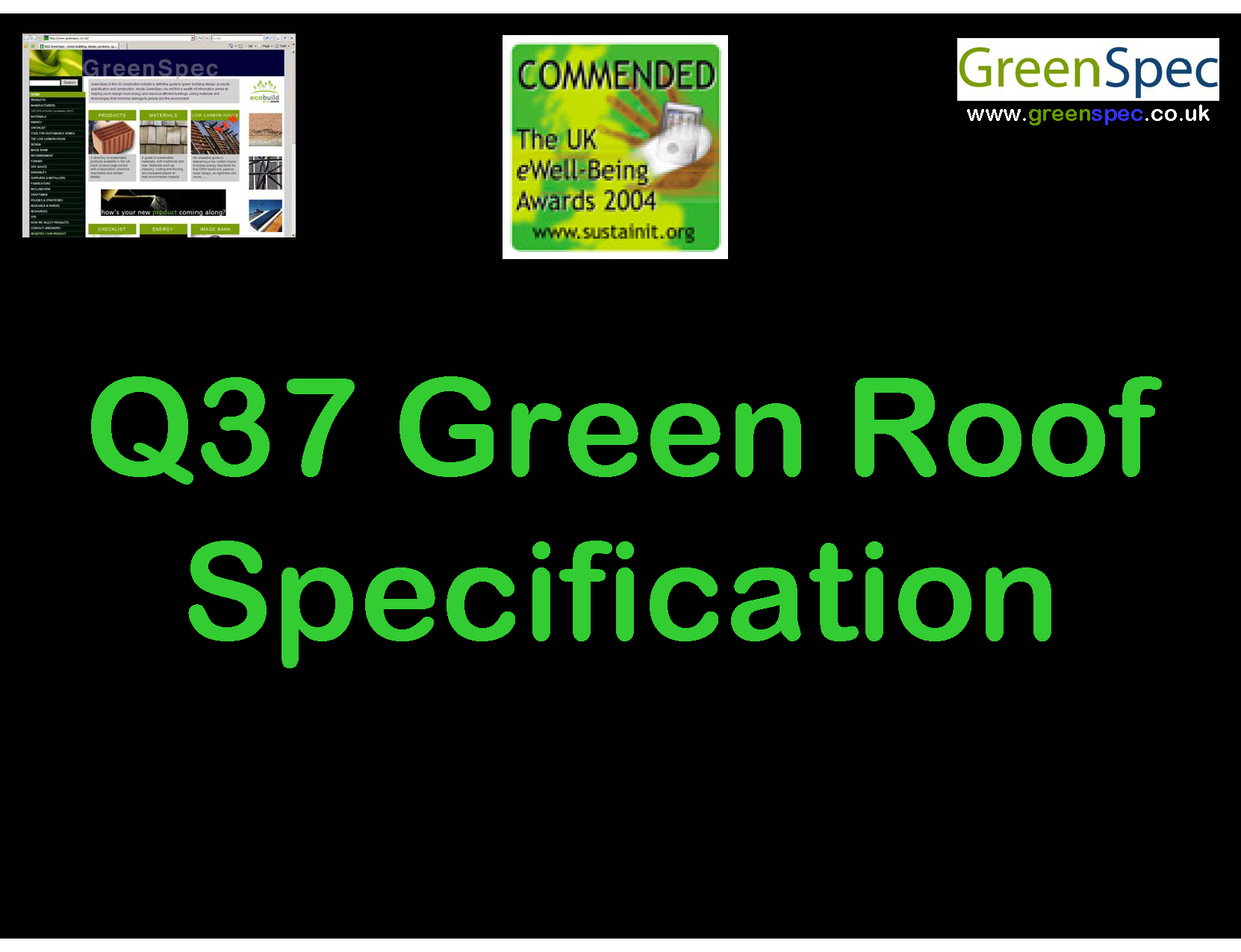 Q37GreenRoofSpecificationCDHandout
