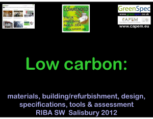 RIBA Salisbury 2012 Low Carbon Everything PNG