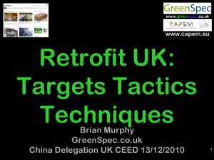 Retrofitting UK Targets Tactics Techniques CPD Cover