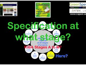 SpecificationDevelopmentA-M