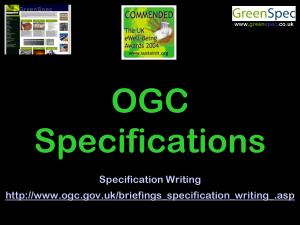 SpecificationOGC