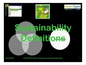 SustainabilityDefinition