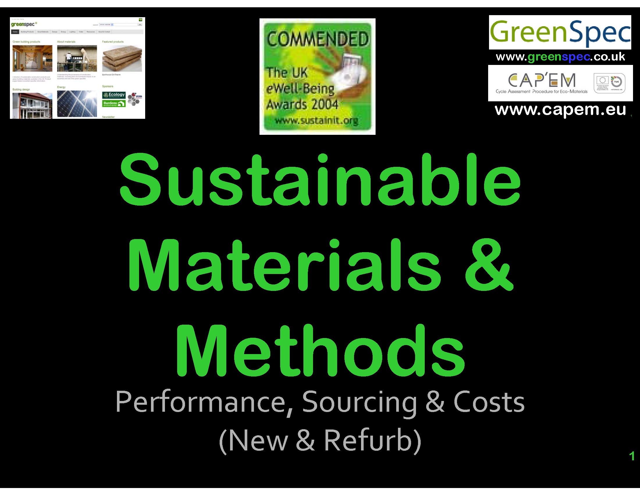 SustainableBuildingMaterials